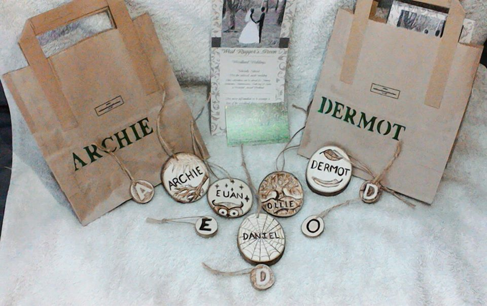 Personalised Eco-friendly Party Bags